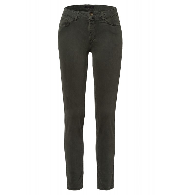 Skinny colored Denim, dark leaf 01014006-0681 1