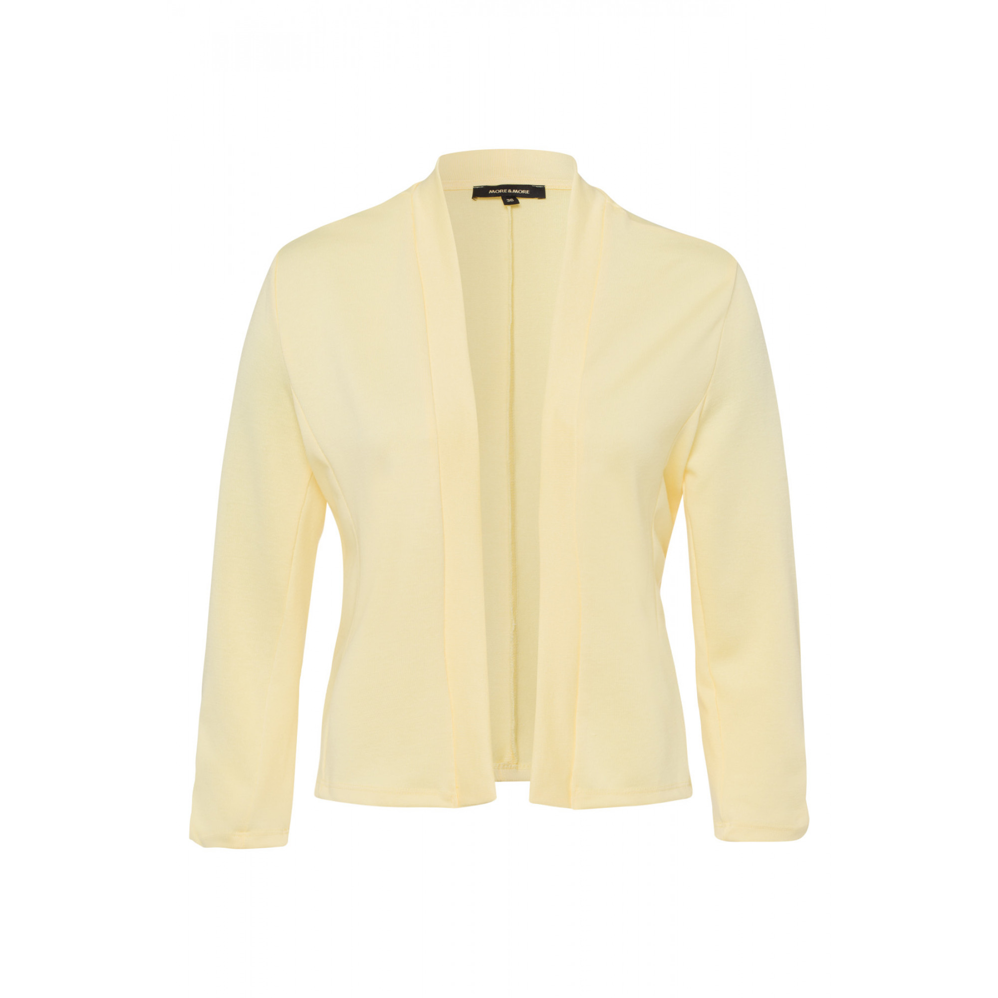 Shirtjacke, pastel yellow 01050022-0128 1