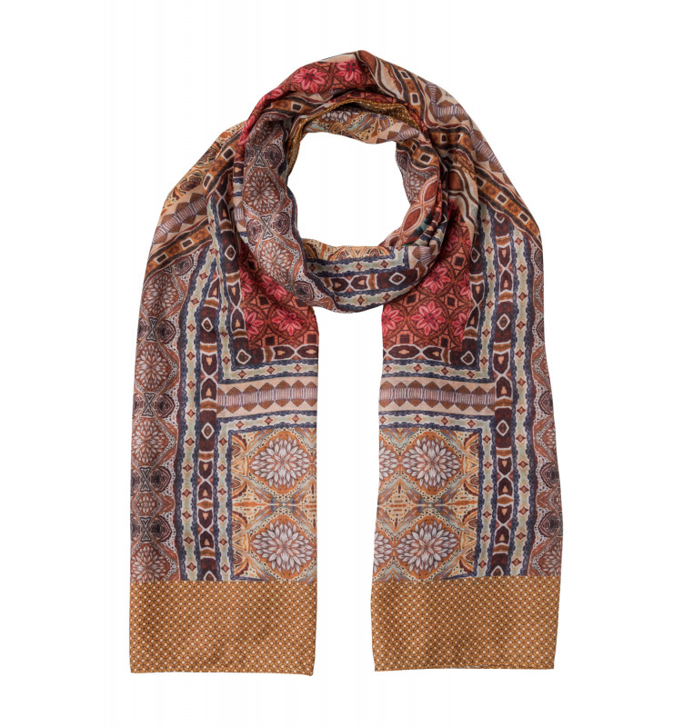 Printed Scarf Active 01079001-4263 1