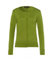 Cardigan, leaf green