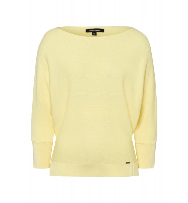 Fledermaus-Pullover, pastel yellow 11821549-0128 1