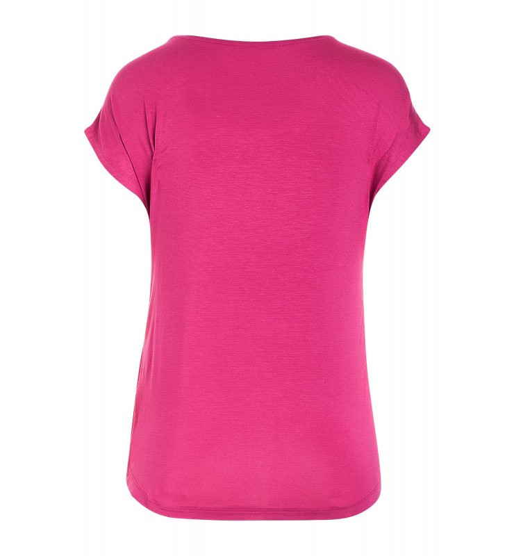 Shirt mit Satinfront, pink 71120520-0832 2