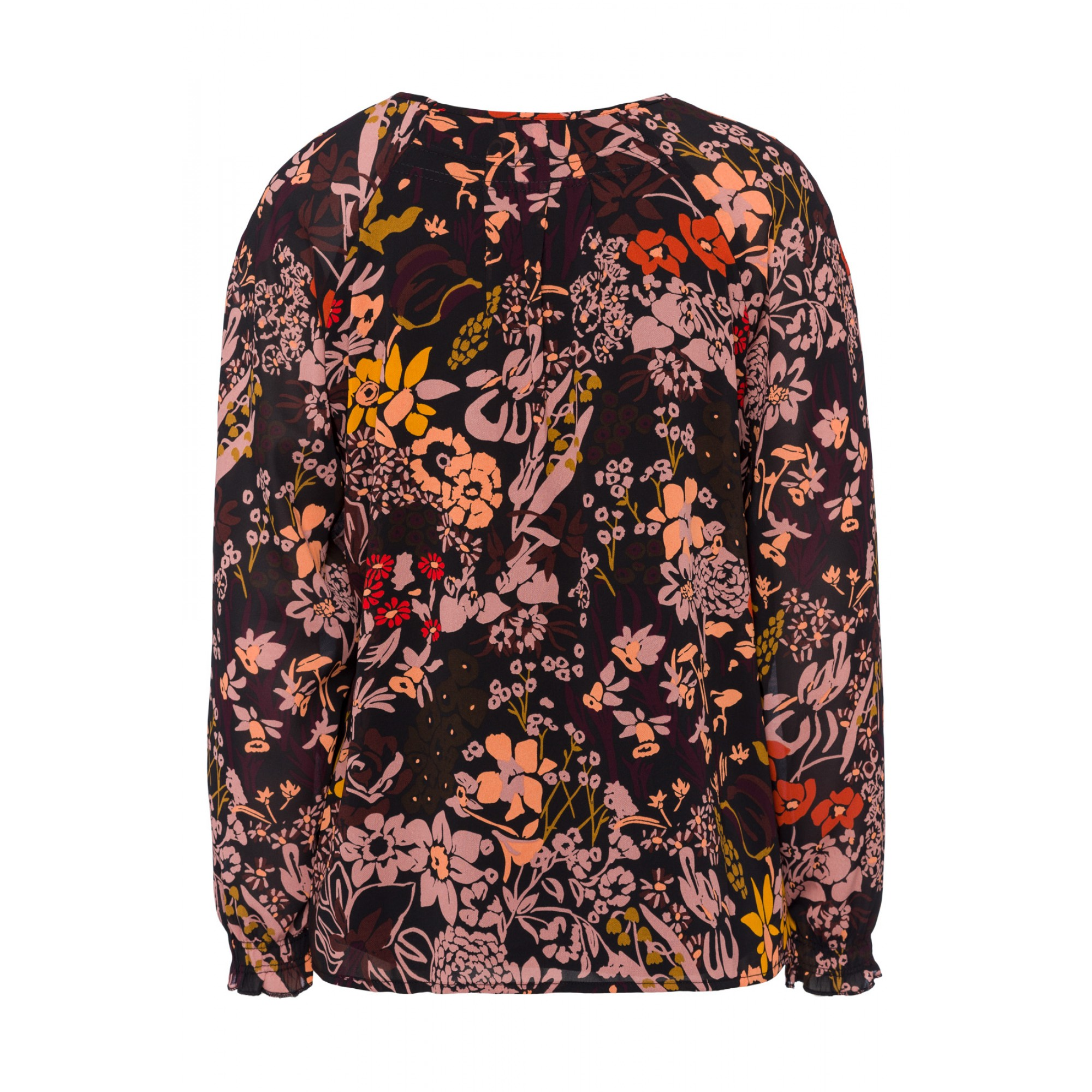 Chiffonbluse, Autumn-Flowers 81092001-3790 2
