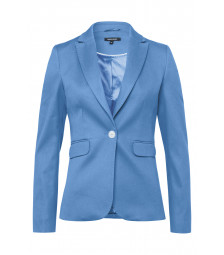 Piqué-Blazer, new blue