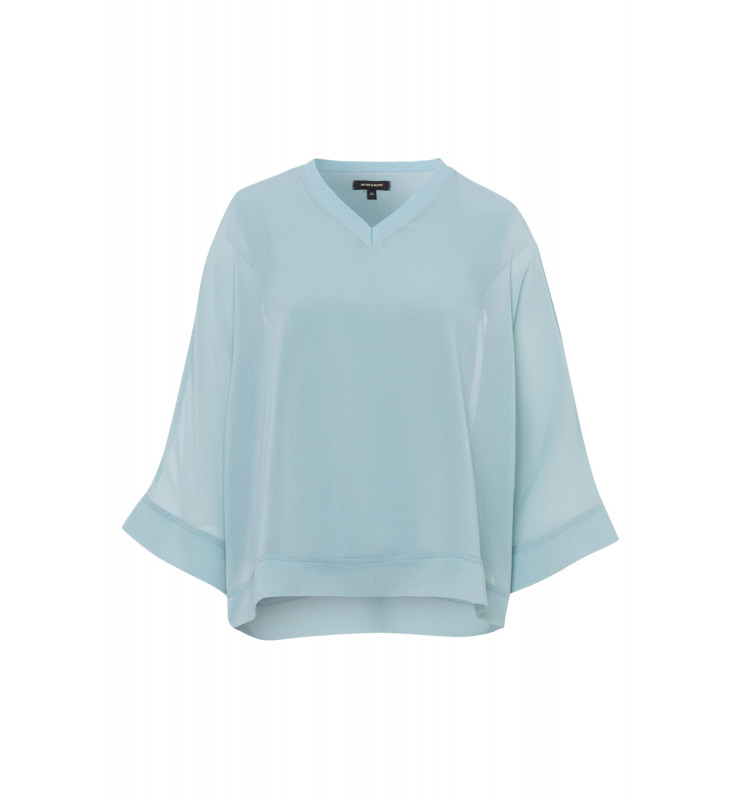 Chiffonbluse, powder mint 91032026-0613 1