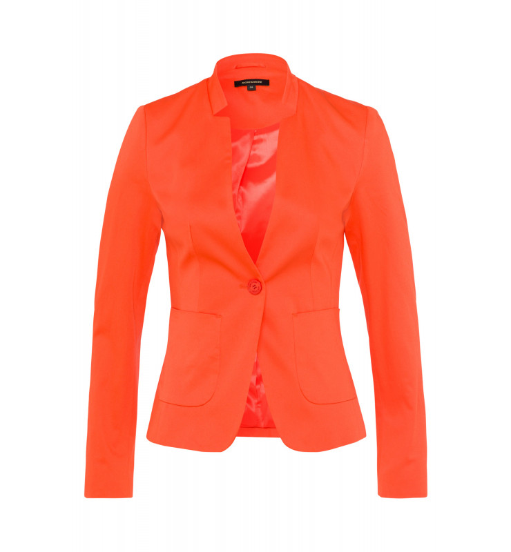Baumwoll/Stretch Blazer, papaya 91046060-0514 1