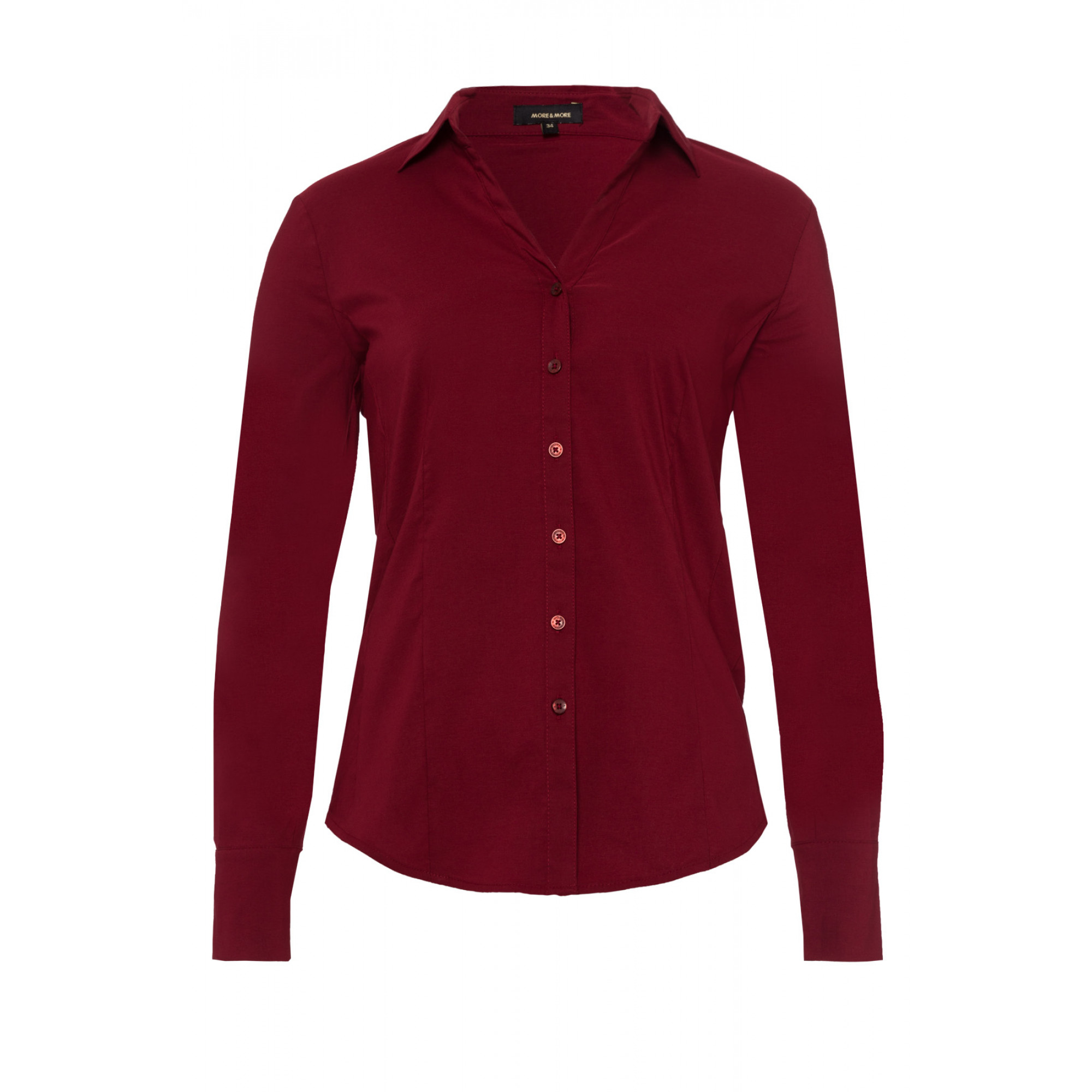 Businessbluse, wine red 91082572-0548 1
