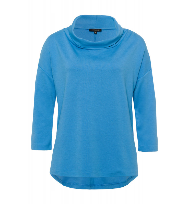 T-Shirt, halsferner Rollkragen, winter blue 91110208-0329 1