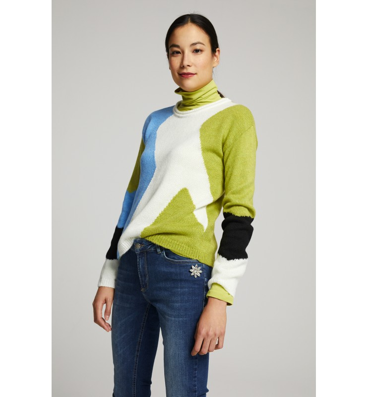 Pullover, Colorblocking 91111001-4610