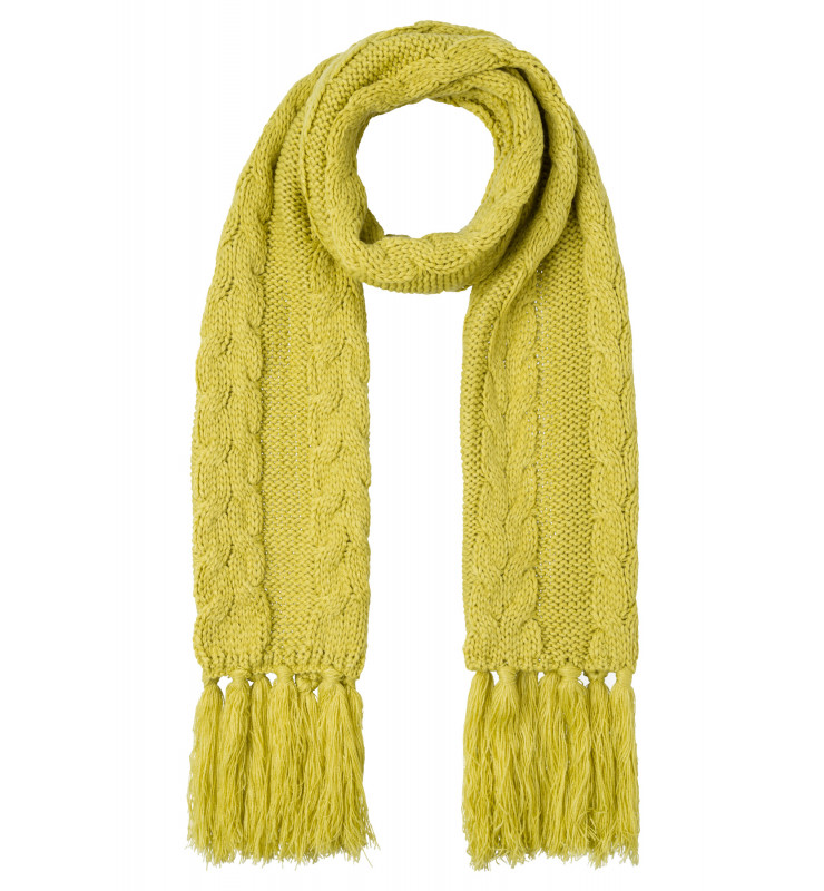 Strickschal, lime green 91119005-0610 1