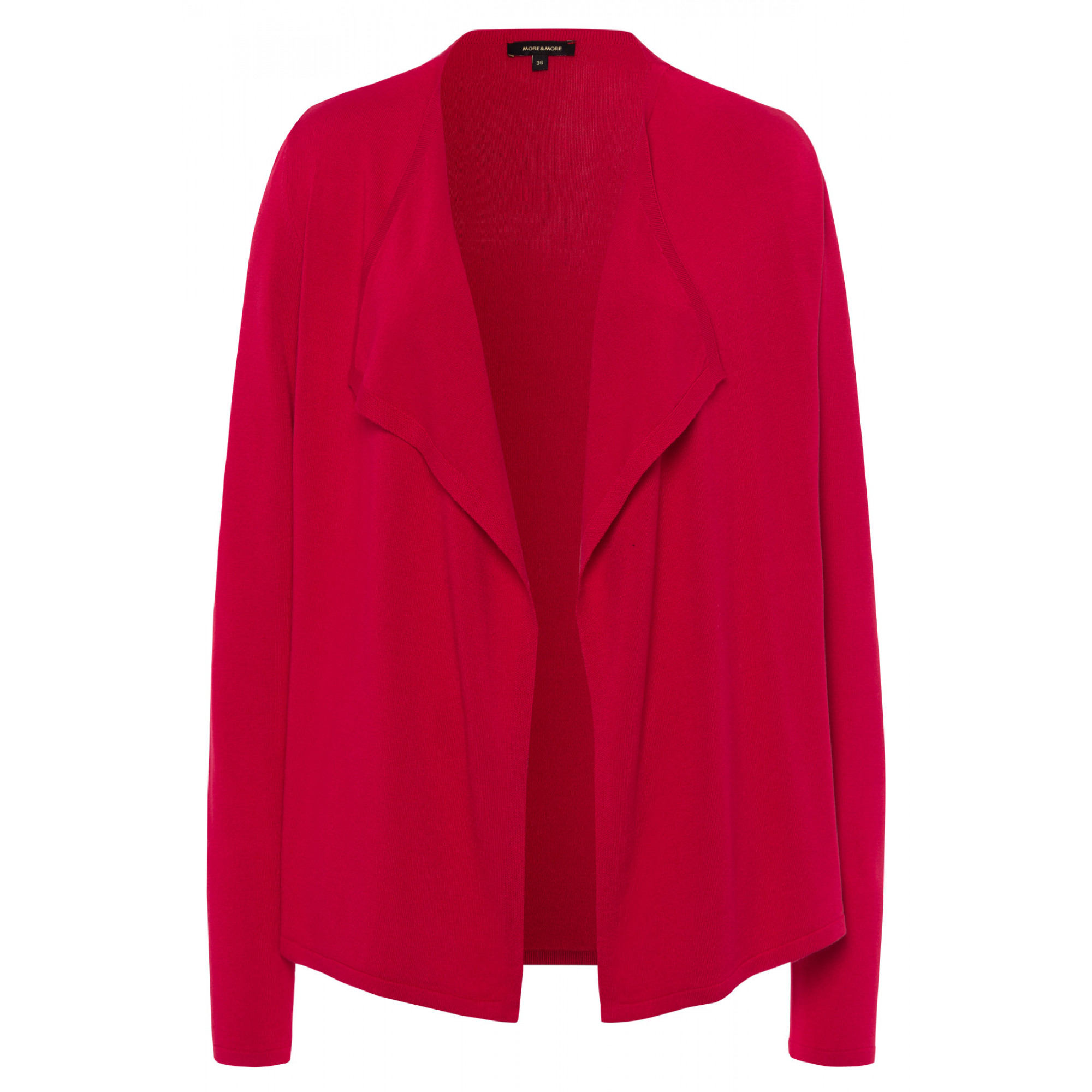 offener Cardigan, rot 91121255-0553 1