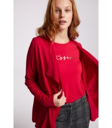 offener Cardigan, rot 91121255-0553