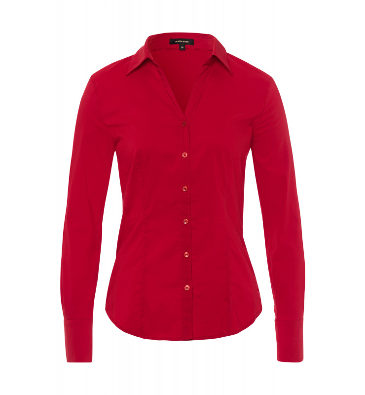 Businessbluse, rot 91122572-0553 1
