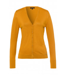 Cardigan, autumn yellow
