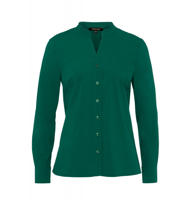 Stretchbluse, emerald green 91922522-0655 1
