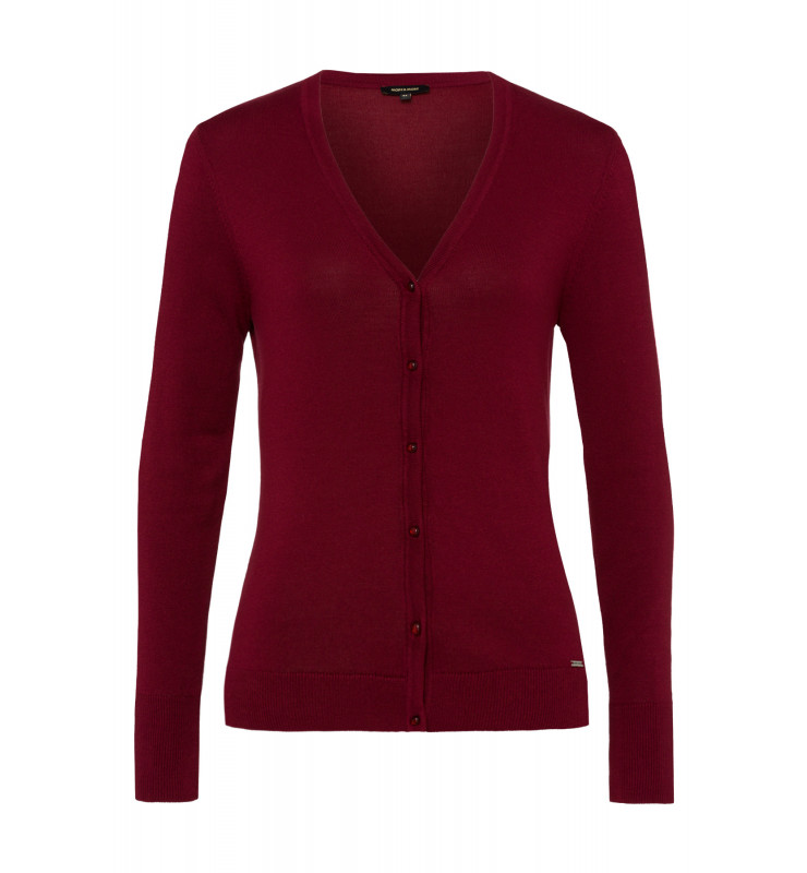 Cardigan, wine red 91961512-0548 1