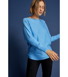 Pullover, Oversize, winter blue 91961536-0329